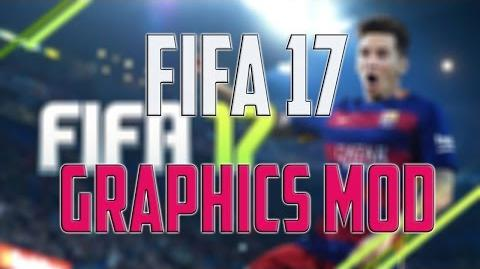 SweetFX enabled in - FIFA 17 - gameplay PC – Crystal Sharp Photorealistic Graphics Mod - Windows 10
