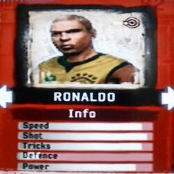 FIFA Street 2 Ronaldo