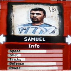 FIFA Street 2 Samuel