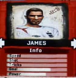 FIFA Street 2 James