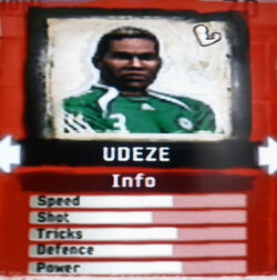 FIFA Street 2 Udeze