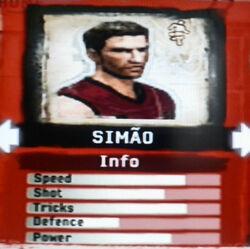 FIFA Street 2 Simao