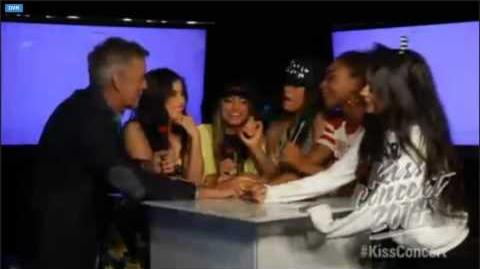 Fifth Harmony Interview @ the Kiss Concert 2014