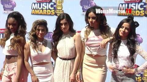 Fifth Harmony, Camila Cabello, Dinah Jane, Lauren, Normani, Ally 2014 Radio Disney Music Awards