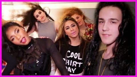 How to Hair Flip with 5th Harmony, Jacob Whitesides, and Mahogany Lox - Fifth Harmony Takeover