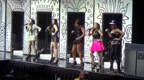 Fifth Harmony performing Miss Movin' On 3 22 14