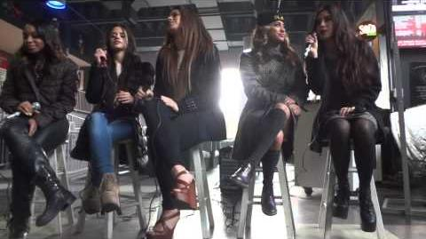 Fifth Harmony Soundcheck - Red ( Neon Lights Tour Camden NJ) 3 1 14