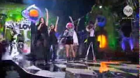 "Fifth Harmony Hub Halloween Bash performance of ""The Monster Mash"" (Clip) - Hub Network"