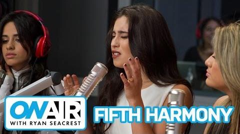 "Fifth Harmony ""I'm In Love With a Monster"" (Acoustic) On Air with Ryan Seacrest-2"