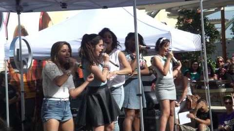 Fifth Harmony San Antonio La Cantera Concert - Me and my girls