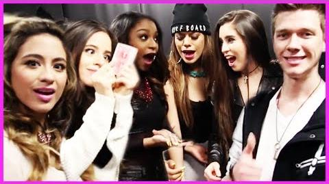 Fifth Harmony's Best Magic Trick with Collins Key - Fifth Harmony Takeover Ep