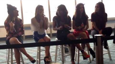 Fifth Harmony - Q&A Cleveland, OH (Neon Lights Tour)