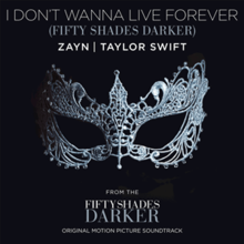 File:Zayn & Taylor Swift - I Don't Wanna Live Forever (Official Single Cover).png