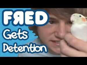 Fred gets detention