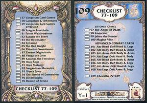 BCUS109Checklist 77-109