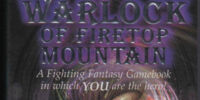 The Warlock of Firetop Mountain (book)