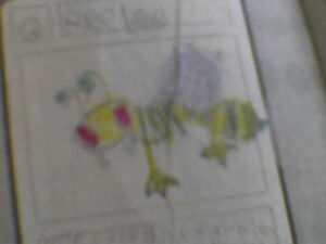 Original Ree bee drawing