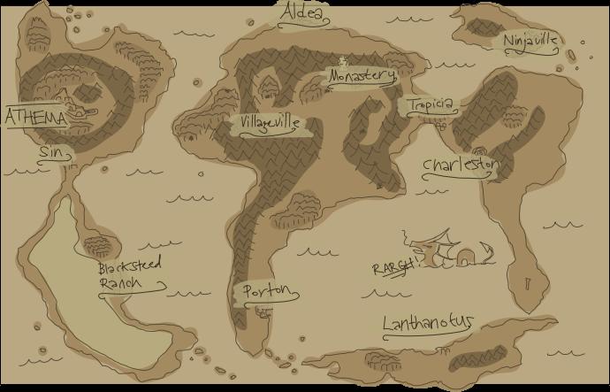 Proteus map