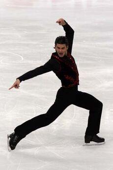Stéphane Lambiel Grand Prix Final 2007