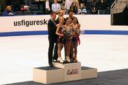 2006 Skate America Pairs Podium