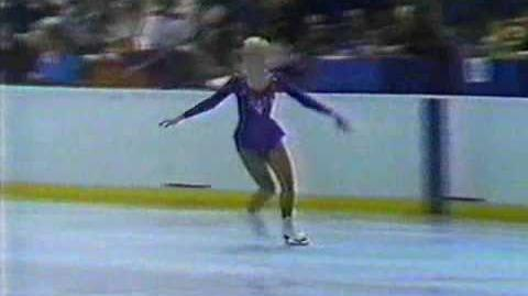Lisa Marie Allen (USA) - 1980 Lake Placid, Ladies' Long Program