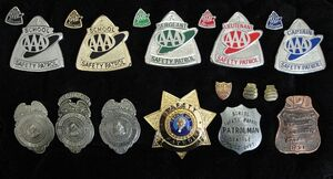 School Safety Patrol Badges