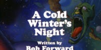 A Cold Winter's Night