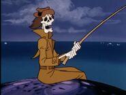 Skeleton Fisherman