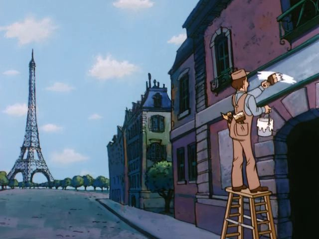 File:Painting near the Eiffel Tower.jpg