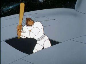 Tracy at the bat