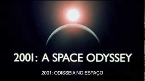 2001- Odisseia no Espaço - Trailer Oficial Legendado Português