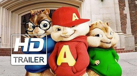 Alvin e Os Esquilos Na Estrada Trailer Oficial Dublado HD
