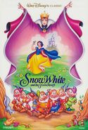 Snow white 1993 re-release poster