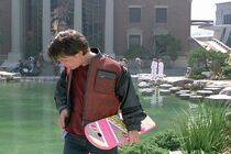 Marty and Hoverboard