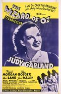 Wizard of oz poster 1955