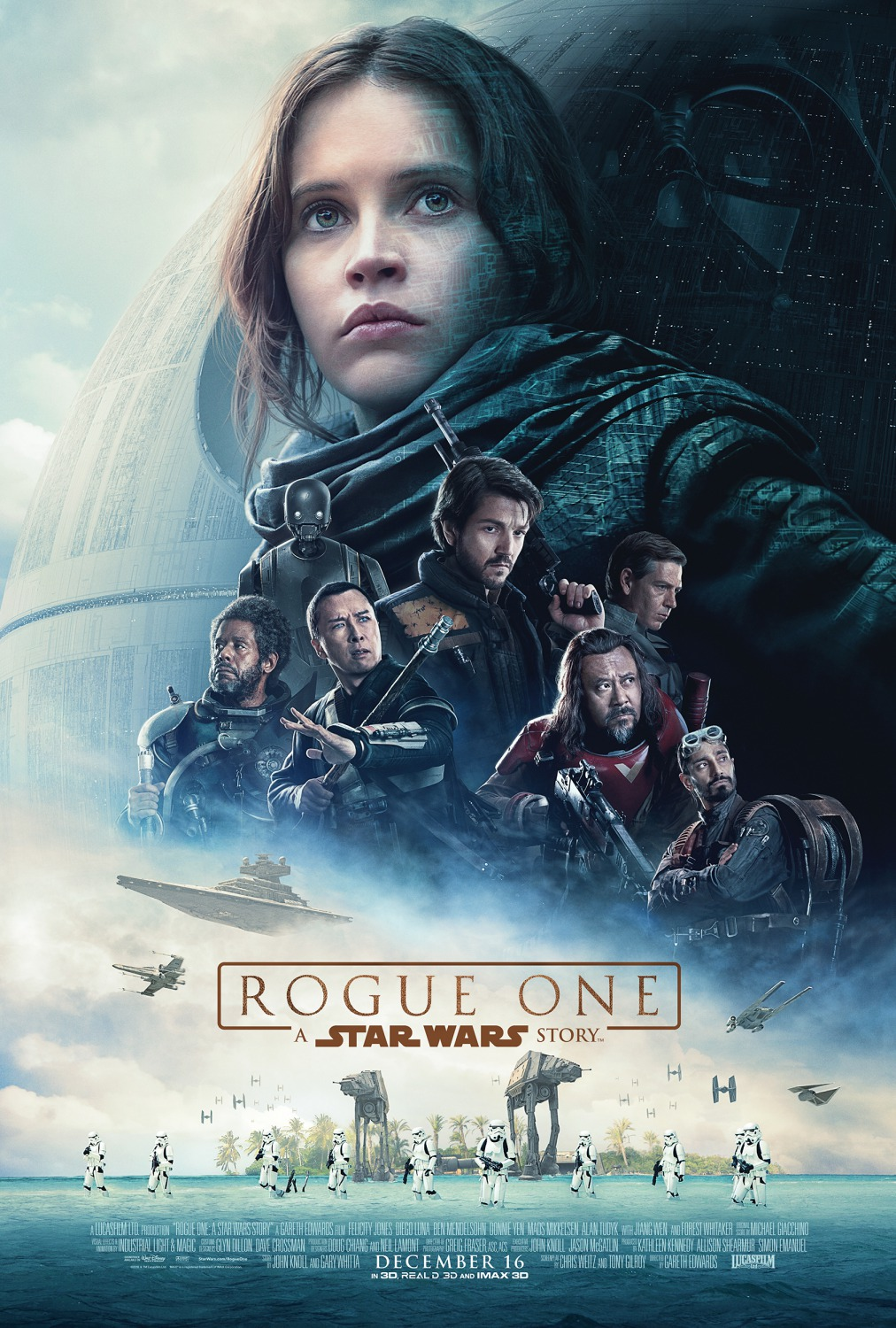 Rogue One A Star Wars Story Celebration Poster