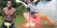 Nut Blaster Challenge (Fireworks on My Balls)