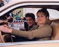 Nora and Tim on the set.png