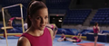 Candice in the gymnasium cheered by Peter.png