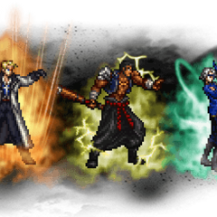 Ultimate++ Seifer, Fujin, & Raijin.