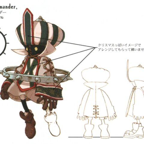 Full, smaller concept artwork of the Ring Leader.