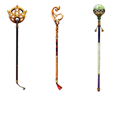 Yuna's Rods.