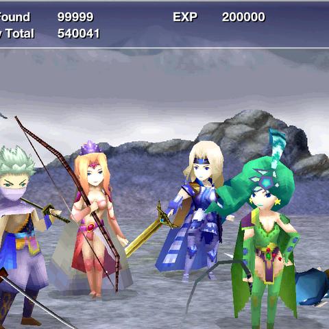 Victory screen (iOS).