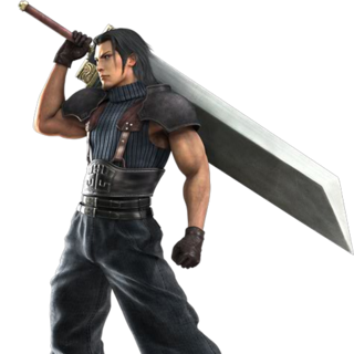 Angeal Hewley: SOLDIER, 1st Class, in <i>Crisis Core -Final Fantasy VII-</i>.