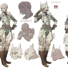 Concept artwork of Qun'mi.