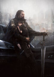 Young Noctis and King Regis