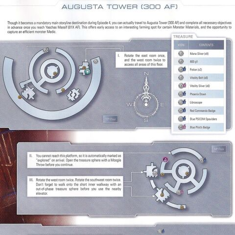 Map of Augusta Tower 300 AF