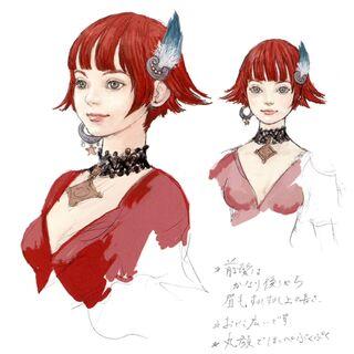 Concept art of Lilisette.