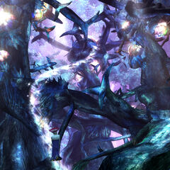 Macalania Woods in <i>Final Fantasy X-2</i>.
