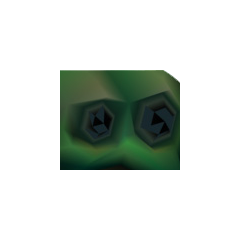 Emerald Weapon without its eyes.